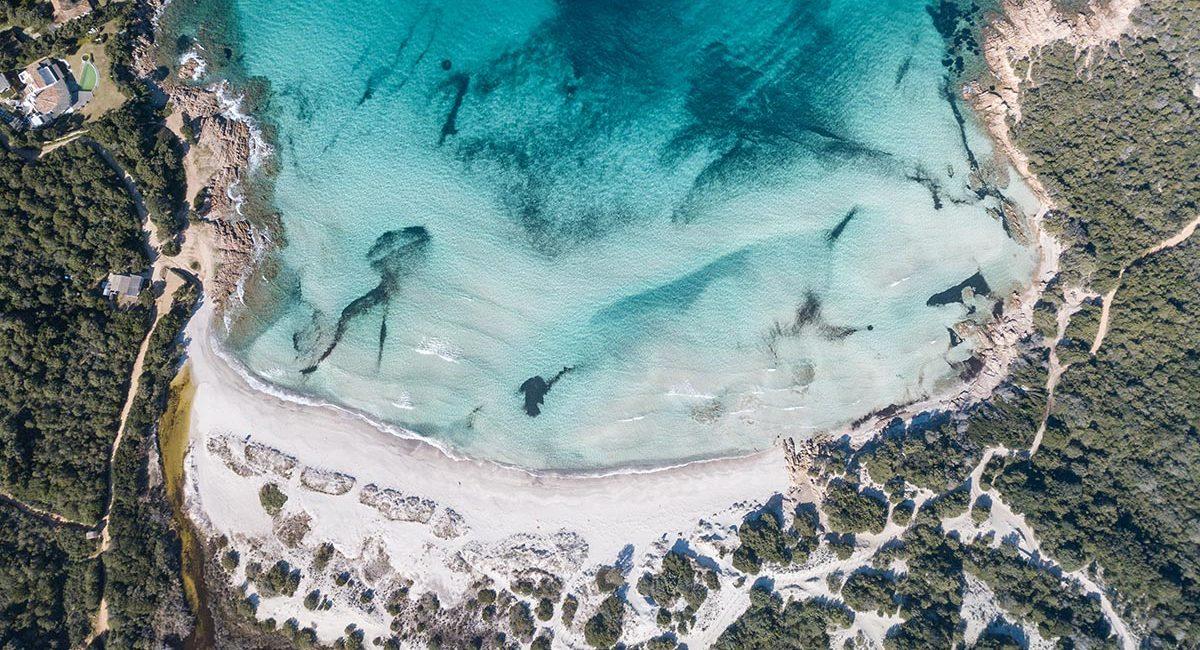 Costa Smeralda beaches Beaches Porto Cervo Liscia Ruja Pevero Spiaggia del Principe