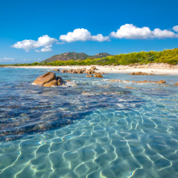 Spiaggia di Berchida Orosei Sardinia